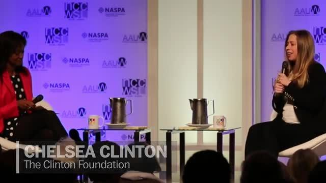 News video: Chelsea Clinton on how to handle criticism